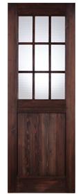 無垢建具 室内ドアtd09