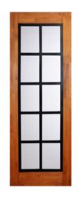 無垢建具 室内ドア アイアンシリーズ ID05